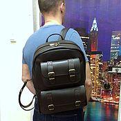 Сумки и аксессуары handmade. Livemaster - original item Backpack leather 122 and. Handmade.