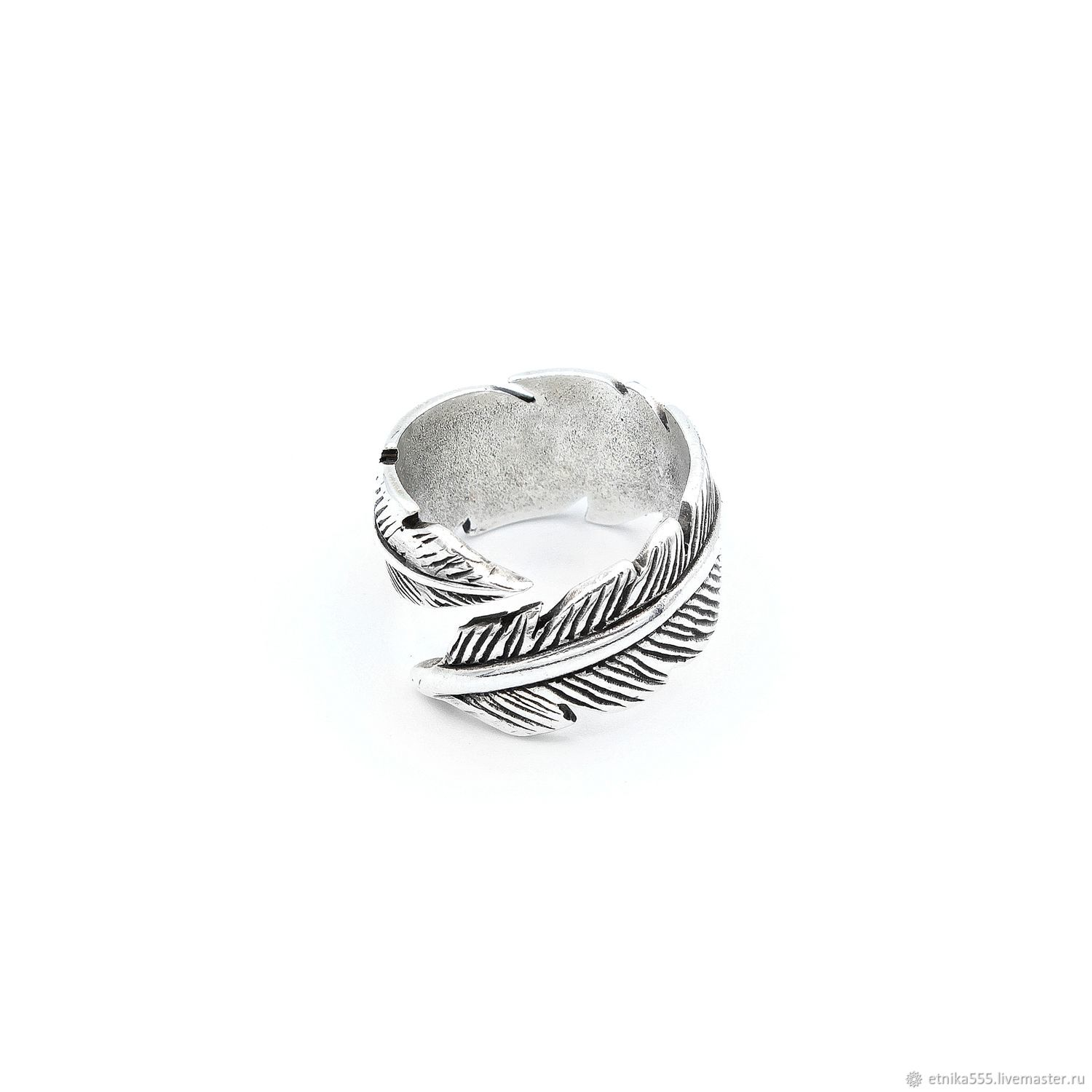 Ring-embrace White feather, Rings, Belaya Cerkov,  Фото №1