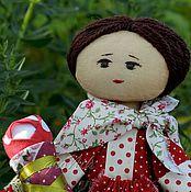 Куклы и игрушки ручной работы. Ярмарка Мастеров - ручная работа кукла текстильная Дуняша. Handmade.