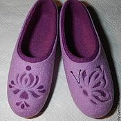 Обувь ручной работы. Ярмарка Мастеров - ручная работа Нежность. Валяные тапочки.. Handmade.