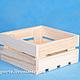 Малый реечный ящик для подарочных наборов, флористики и творчества.