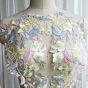 Материалы для творчества handmade. Livemaster - original item Delicate lace embroidery, pair. Handmade.