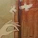 Фантазийные сюжеты ручной работы. Учительница ботаники. Максим Корчагин (korchaginm). Интернет-магазин Ярмарка Мастеров. Птицы, волосы, школа