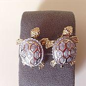 Украшения handmade. Livemaster - original item Earrings Baby!Baby! Diamonds, gold 585. Handmade.