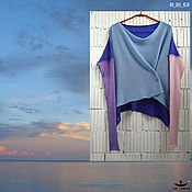 Одежда handmade. Livemaster - original item KN_003_KSAG Blouson a 4 x coloured. Handmade.