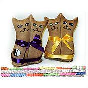 Куклы и игрушки ручной работы. Ярмарка Мастеров - ручная работа Котята - неразлучники, сладкие парочки, подарок близнецам. Handmade.