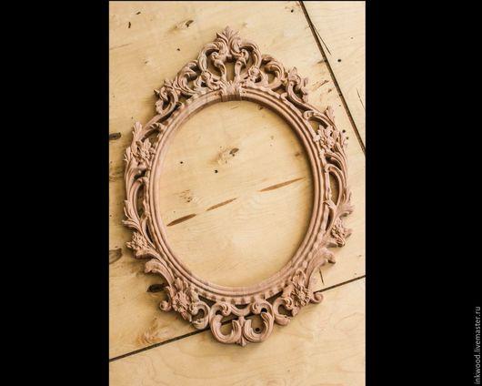 Зеркала ручной работы. Ярмарка Мастеров - ручная работа. Купить Резная рама, зеркало. Handmade. Дерево натуральное, рама