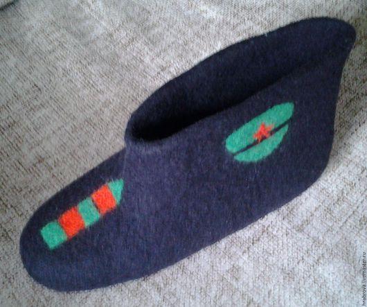 Обувь ручной работы. Ярмарка Мастеров - ручная работа. Купить Пограничные. Handmade. Черный, обувь на заказ, Мокрое валяние
