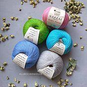 Материалы для творчества ручной работы. Ярмарка Мастеров - ручная работа пряжа Gazzal Baby Wool. Handmade.
