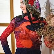 """Одежда ручной работы. Ярмарка Мастеров - ручная работа Свитер""""Вулкан"""". Handmade."""