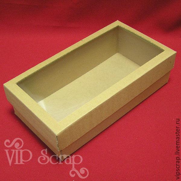 Коробка для кукол с окошком
