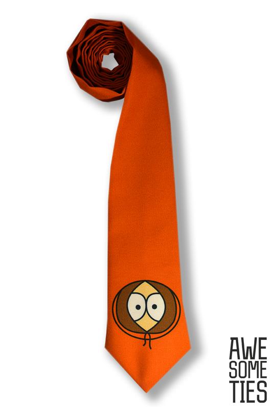Галстуки, бабочки ручной работы. Ярмарка Мастеров - ручная работа. Купить Оранжевый галстук Кенни. Handmade. Оранжевый, оранжевый галстук
