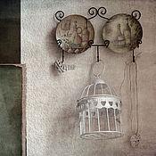 Картины и панно ручной работы. Ярмарка Мастеров - ручная работа Натюрморт Хочу в Элладу. Handmade.