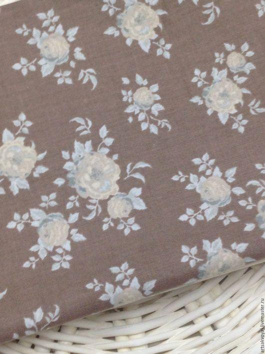 Шитье ручной работы. Ярмарка Мастеров - ручная работа. Купить Ткань Tilda Aurora, braun. Handmade. Коричневый, ткань тильда