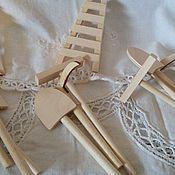 Материалы для творчества ручной работы. Ярмарка Мастеров - ручная работа Дачный наборчик 4 предмета. Handmade.