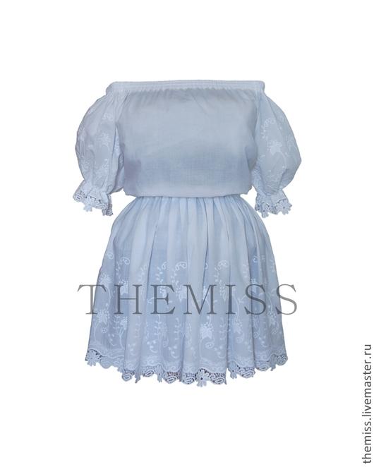 Платья ручной работы. Ярмарка Мастеров - ручная работа. Купить Платье Дейзи. Handmade. Белый, красивое платье, летнее платье