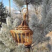 Для домашних животных, ручной работы. Ярмарка Мастеров - ручная работа Зимняя сказка, кормушка для птиц балконная. Handmade.
