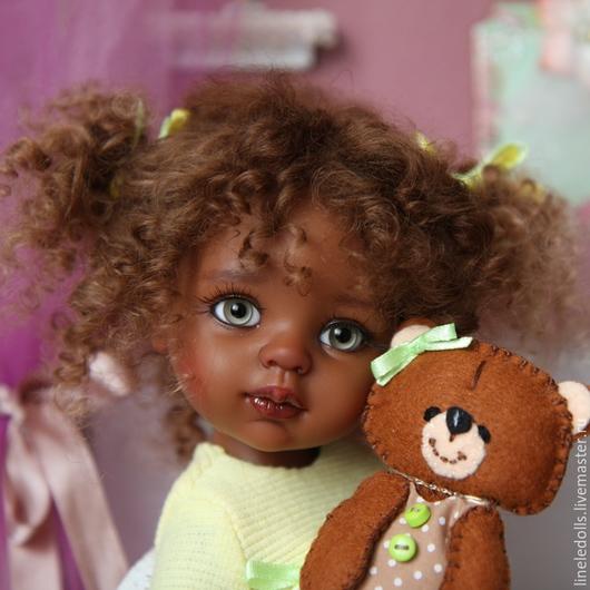 """Коллекционные куклы ручной работы. Ярмарка Мастеров - ручная работа. Купить """"Лили"""" ООАК куклы Paola Reina. Handmade. Разноцветный"""