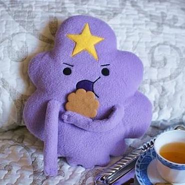 """Куклы и игрушки ручной работы. Ярмарка Мастеров - ручная работа Подушка- игрушка """"Принцесса Пупырка"""". Handmade."""