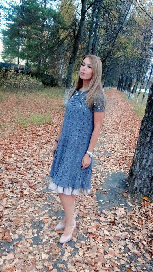 Вязание ручной работы. Ярмарка Мастеров - ручная работа. Купить Мастер-класс по вязанию бохо-платья  Анна в формате PDF. Handmade.