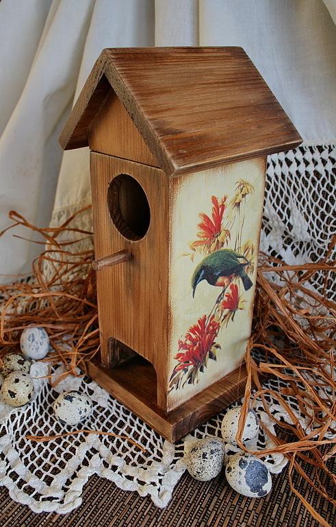 """Кухня ручной работы. Ярмарка Мастеров - ручная работа. Купить домик для чайных пакетиков """"Птичий дом"""". Handmade. Чайный домик"""