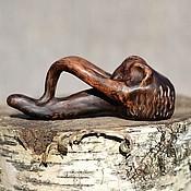 """Трубки ручной работы. Ярмарка Мастеров - ручная работа Глиняная курительная трубка """"Мамонт"""". Handmade."""