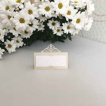 Свадебный салон ручной работы. Ярмарка Мастеров - ручная работа Рассадочные карточки Ажур. Handmade.