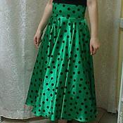 Одежда ручной работы. Ярмарка Мастеров - ручная работа Винтажные юбки-солнце ,, стиляги ,, с подъюбником. Handmade.