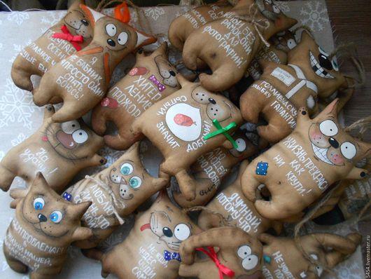 Ароматизированные куклы ручной работы. Ярмарка Мастеров - ручная работа. Купить Кофейные позитивы.. Handmade. Коричневый, корица, акриловые краски