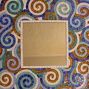 Для дома и интерьера ручной работы. Ярмарка Мастеров - ручная работа зеркало с мозаичной рамкой. Handmade.