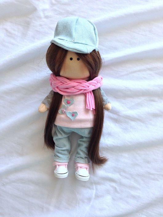 Коллекционные куклы ручной работы. Ярмарка Мастеров - ручная работа. Купить Интерьерная кукла ростиком 30см, свободна и ищет дом. Handmade.