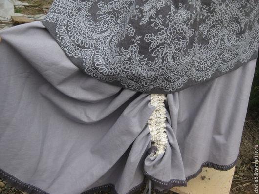 """Юбки ручной работы. Ярмарка Мастеров - ручная работа. Купить Скидка 20% Юбка """"Серая фантазия"""". Handmade. Серый, юбка"""