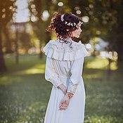 """Украшения ручной работы. Ярмарка Мастеров - ручная работа Венок """"Яблоня в цвету"""".. Handmade."""