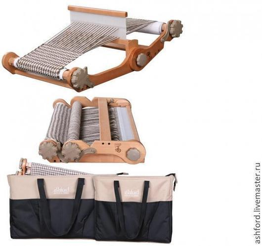 Другие виды рукоделия ручной работы. Ярмарка Мастеров - ручная работа. Купить Портативный ткацкий станок с сумкой (knitters loom combo). Handmade.