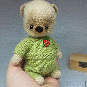 Куклы и игрушки ручной работы. Ярмарка Мастеров - ручная работа Мишка вязаный Тимоша. Handmade.
