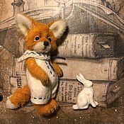 Мягкие игрушки ручной работы. Ярмарка Мастеров - ручная работа Little fox 1. Handmade.