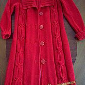 Пальто ручной работы. Ярмарка Мастеров - ручная работа Пальто вязаное. Handmade.