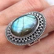 Украшения handmade. Livemaster - original item Ring Oval with labradorite Himalayan silver 925. Handmade.