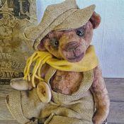"""Куклы и игрушки ручной работы. Ярмарка Мастеров - ручная работа Тедди мишка """" Гаврош"""". Handmade."""