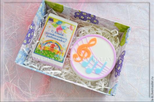 """Подарочные наборы косметики ручной работы. Ярмарка Мастеров - ручная работа. Купить Набор мыла """"Подарок учителю музыки"""". Handmade."""