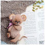 Куклы и игрушки ручной работы. Ярмарка Мастеров - ручная работа Мышь Крыса тедди. Handmade.