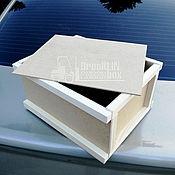 Подарочные боксы ручной работы. Ярмарка Мастеров - ручная работа Ящик почтовый посылочный. Handmade.