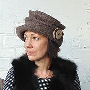 Аксессуары handmade. Livemaster - original item Button-down hat. Handmade.
