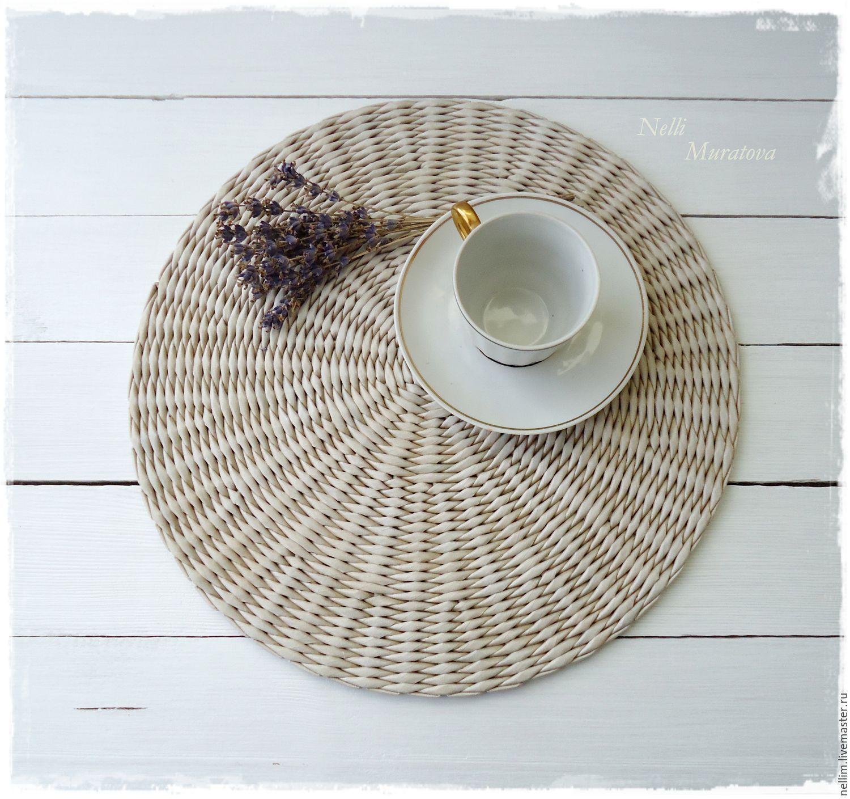 Салфетки для плетеных корзин