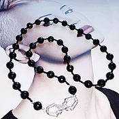 Работы для детей, handmade. Livemaster - original item Beads made of natural spinel and agate stones.. Handmade.