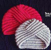 Аксессуары handmade. Livemaster - original item Knitted set for Moms and Daughters.. Handmade.