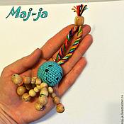 Куклы и игрушки ручной работы. Ярмарка Мастеров - ручная работа Деревянная игрушка Осьминожка. Handmade.