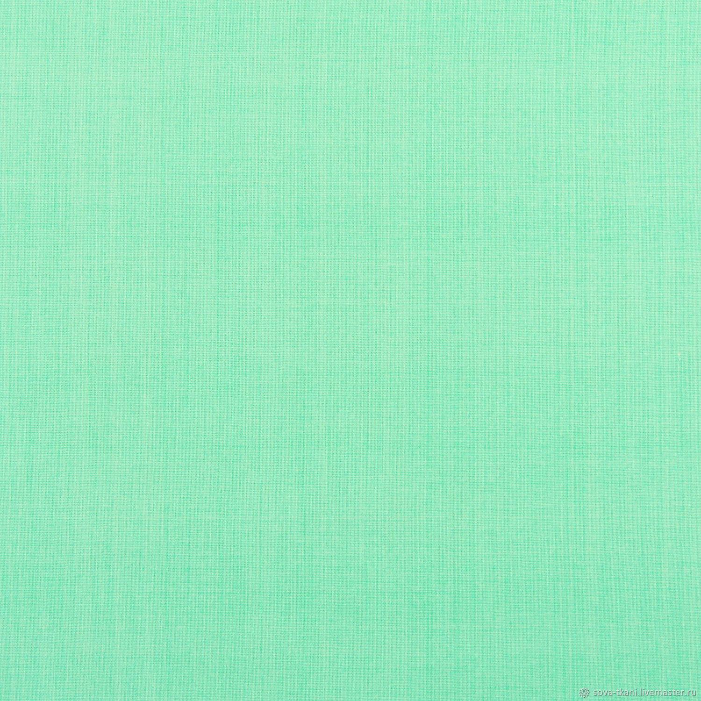 Американский хлопок зеленая мята ТКАНЬ, Ткани, Санкт-Петербург,  Фото №1
