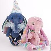 Куклы и игрушки ручной работы. Ярмарка Мастеров - ручная работа Цирковые слоники. Handmade.