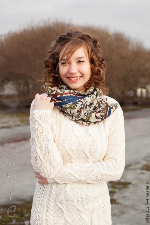 белый, молочный, ванильный, белоснежный, молочно-белый, белый джемпер, джемпер вязаный, джемпер женский, пуловер, пуловер женский, пуловер вязаный, свитер, свитер женский, свитер вязаный, купить джемп